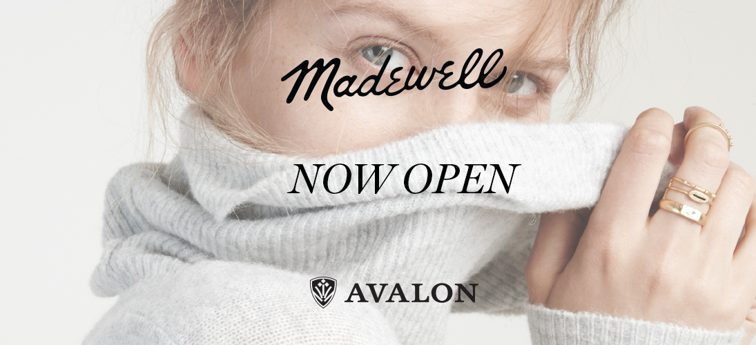 Madewell-Now Open